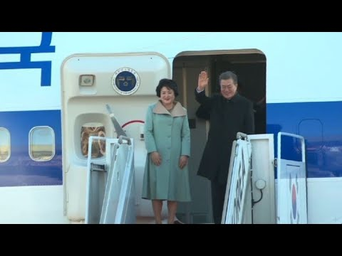 South Korean President Moon heads to Beijing for official visit