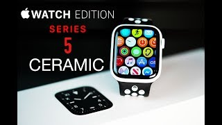 $1349 Apple Watch Edition - Series 5 Ceramic // Unboxing & Review!