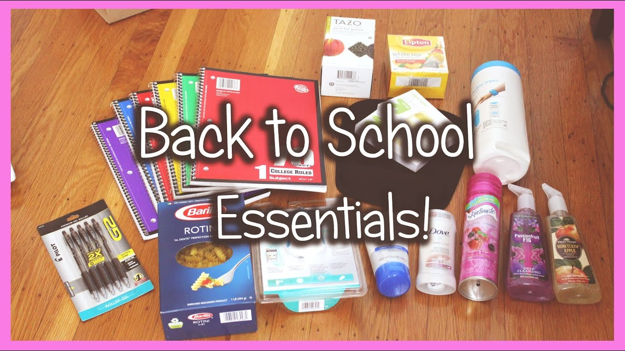 6th grade back to school items?