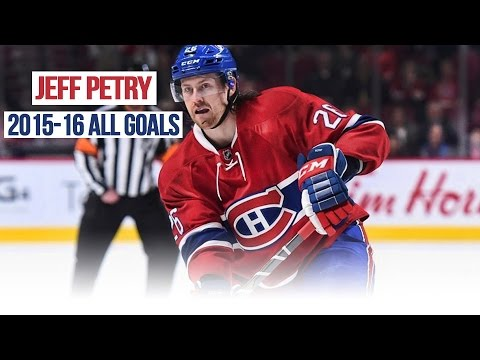 Jeff Petry's All Goals from the 2015-2016 NHL Season
