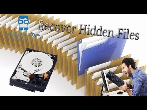 How To Recover Hidden Files