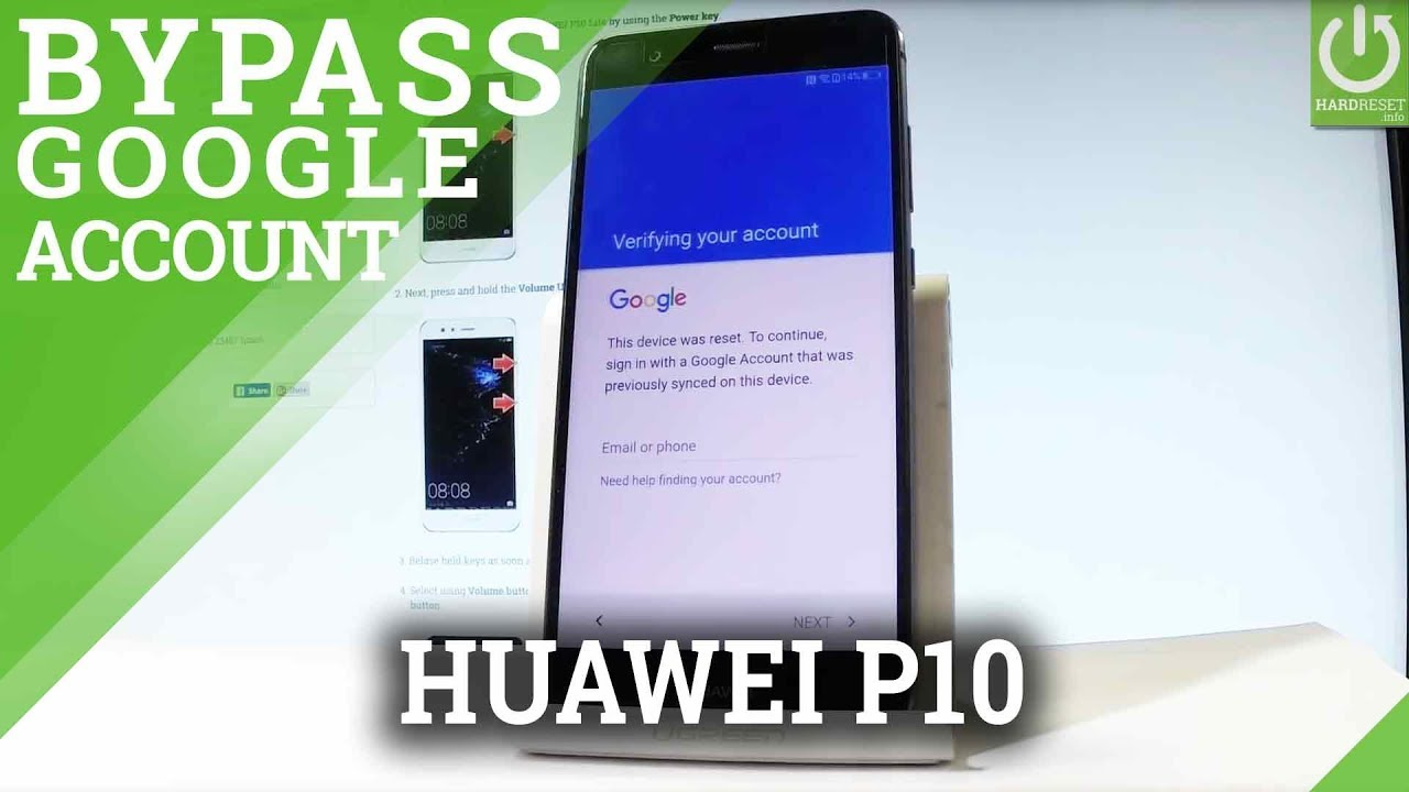 How to bypass google verification in HUAWEI P8 Lite ALE-L04