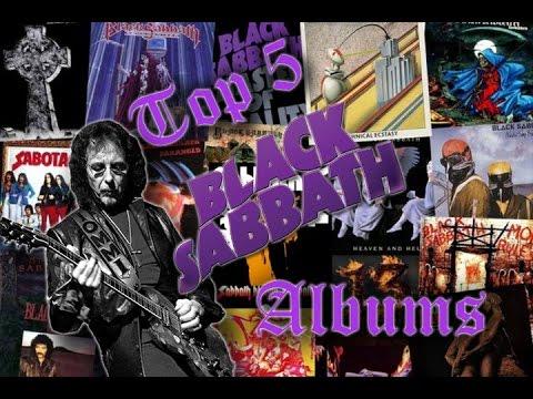 Top 5 Black Sabbath Albums
