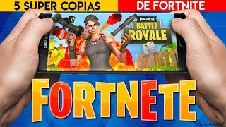 5 NEW GAMES as FORTNITE FOR FREE! Copies of Fortnite Battle Royale for ANDROID PHONE2019