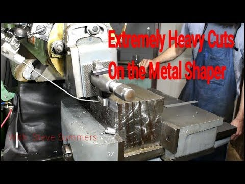 Making BIG BOY Chips on the Metal Shaper