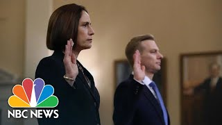 Highlights: Fiona Hill And David Holmes' Impeachment Hearing Testimony | NBC News