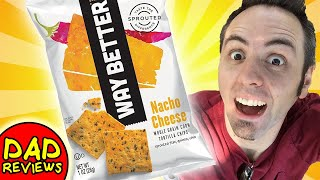 WHOLE GRAIN FOODS   Way Better Snacks Nacho Cheese Taste Test & Review