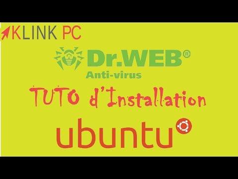 Comment Installer L'antivirus  Dr.Web Linux  Sur Ubuntu
