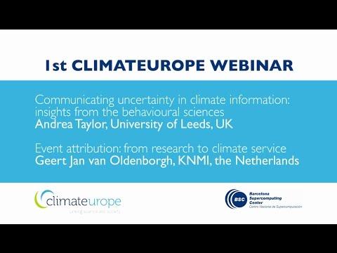Climateurope Webinar Series - n. 01