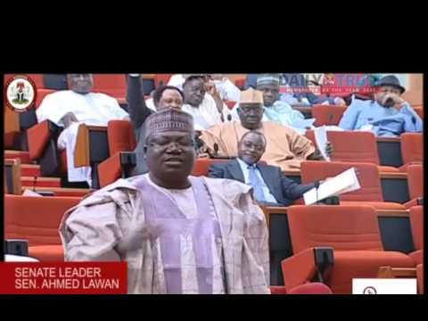 Senate leader, Lawan cautions presidential aides