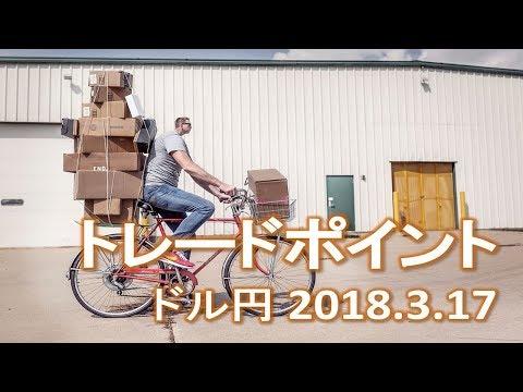 【FX:ドル円 2018.3.17】トレードポイント解説