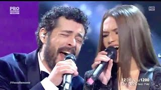 Vocea Romaniei 2016 FINALA Ioana Ignat &amp Marius Moga (With A Little Help From My Friend ...
