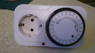 видео Таймер Smartbuy   механич. розеточный 3600Вт, 96 вкл./выкл. сутки, интервал 15 мин. оптом