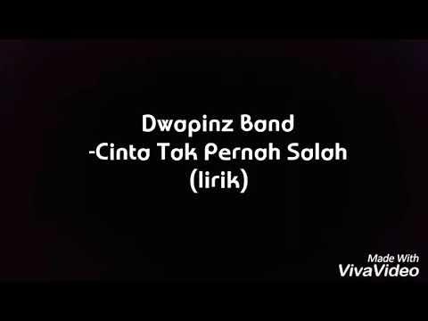D'wapinz Band -Cinta Tak Pernah Salah (lirik)