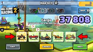 HILL CLIMB RACING 2 - 37808 POINTS IN HOP TO IT GAMEPLAY