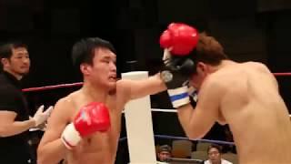 KROSS×OVER認定 初代-60KGキック王座トーナメント1回戦 富沢 貴人(O...