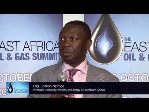 Eng. Joseph Njoroge, Principal Secretary, Ministry of Energy and Petroleum, Kenya