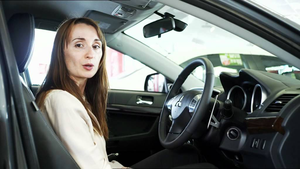 How To Unlock Steering Wheel >> Mitsubishi smart key and one-touch start - YouTube