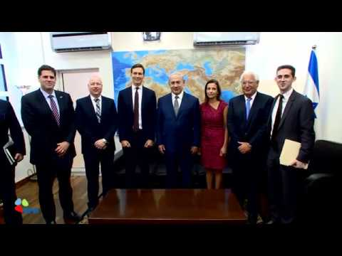 PM Netanyahu meets with Jared Kushner