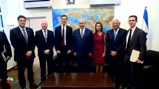 PM Netanyahu meets with Jared Kushner