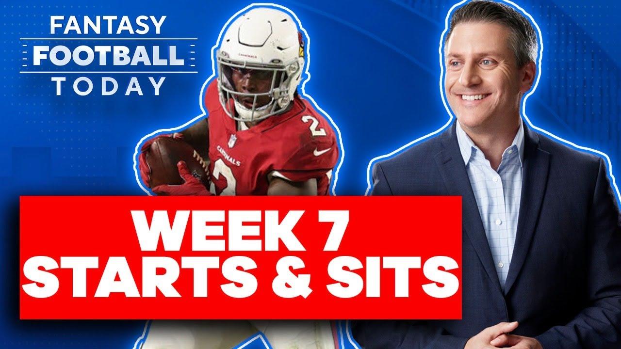 Download WEEK 7 STARTS & SITS: BIGGEST RANKINGS DEBATES, SLEEPERS, BUSTS | 2021 Fantasy Football Advice