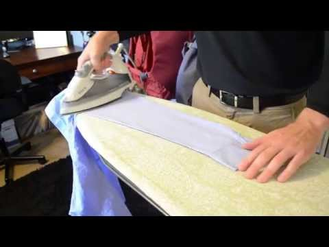 How To Iron a Shirt With Lincoln Maids | Long Beach, CA