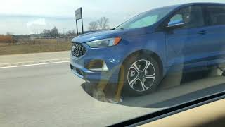 *SPOTTED* 2019 FORD EDGE ST FREEWAY DRIVING