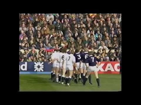 1990 Scotland 13-7 England Five Nations Rugby Union