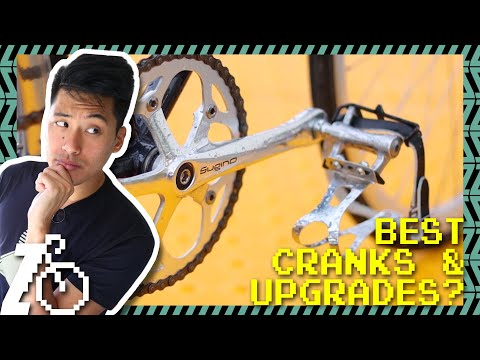Top 5 Track Cranks, Best Upgrades, NJS Explained?   Fixed Gear Q&A