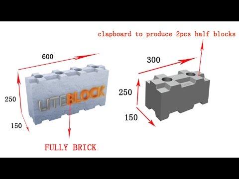 Clc Interlocking Light Weight Block Mold Foaming Agent