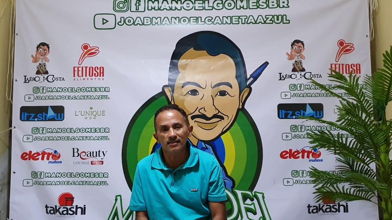 Manoel Gomes caneta azul homenagem ao dia dos pais nosso herói