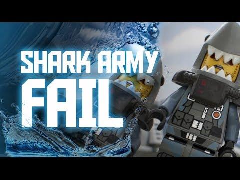 LEGO NINJAGO Movie: Fail Army is the Shark Army! [SHARK FAIL]