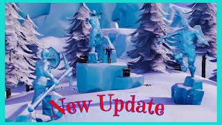 Fortnite Battle Royale New Update | Candy Cane Weapon Skin