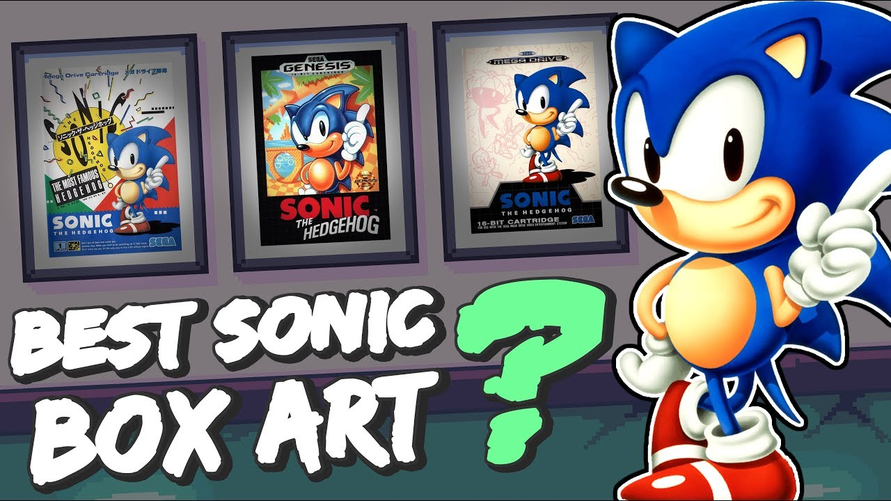 The Best Sonic Box Art Ft Daniel Ibbertson Youtube