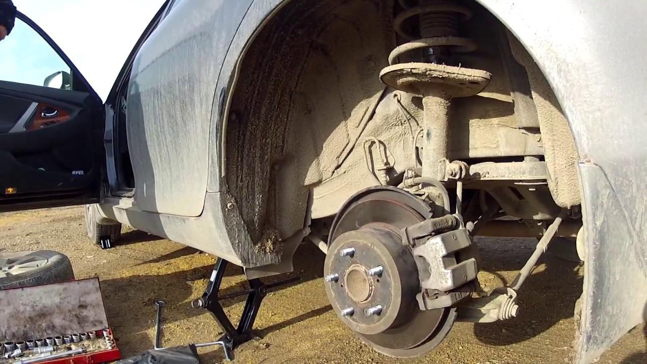 Тойота Кэмри v 40 как поменять тормозные колодки самому | Авто лайфхаки