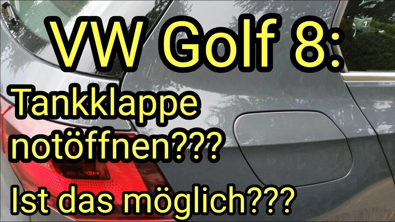 6 tankdeckel öffnen golf 8K/B8: Tankdeckel