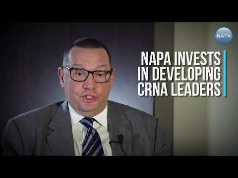 Faces Of NAPA: Paul Santoro, CRNA On: CRNA Leadership