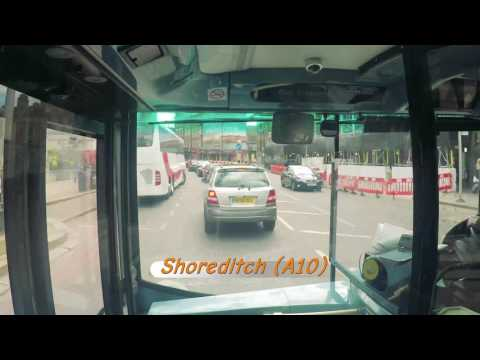 London Bus Timelapse | Enfield to Tooting | Rail Replacement | Our Travel Adventures