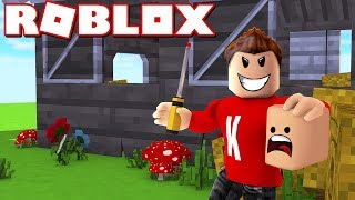 ESCAPING FROM THE KILLER! | English Roblox: Murder Mystery