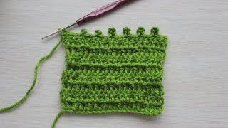 Вязание крючком. Урок 12- ПИКО | Picot