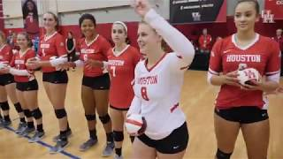 Houston Volleyball vs. Connecticut 9.23.18