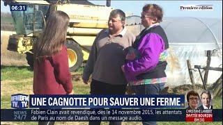Une adolescente a ouvert, en secret, une cagnotte pour sauver la ferme de ses parents