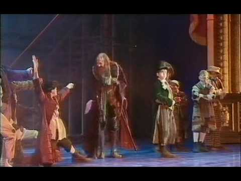 Russ Abbot as Fagin in Oliver - Pick A Pocket