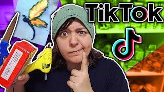 EXPLORING TikTok's CRAFT DIY World - Recording Tik Tik videos