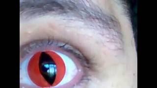 lente vermelha olhos de gato cat red - Brazilentes 674d379414