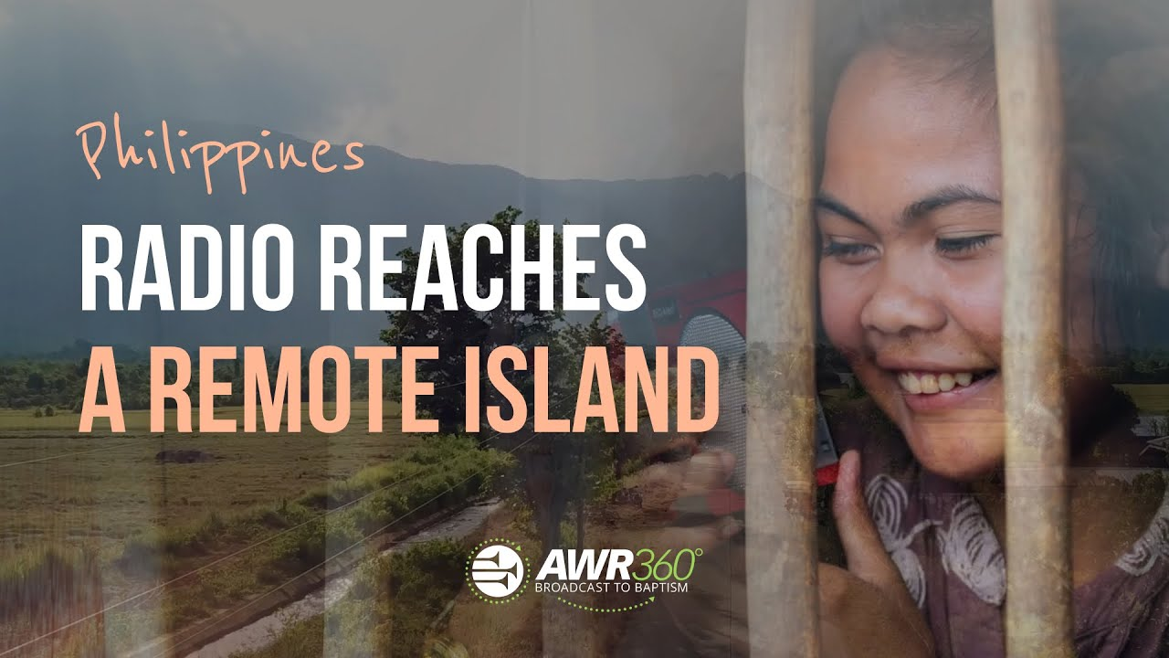 video thumbnail for Radio Reaches Remote Island in the Philippines | AWR360
