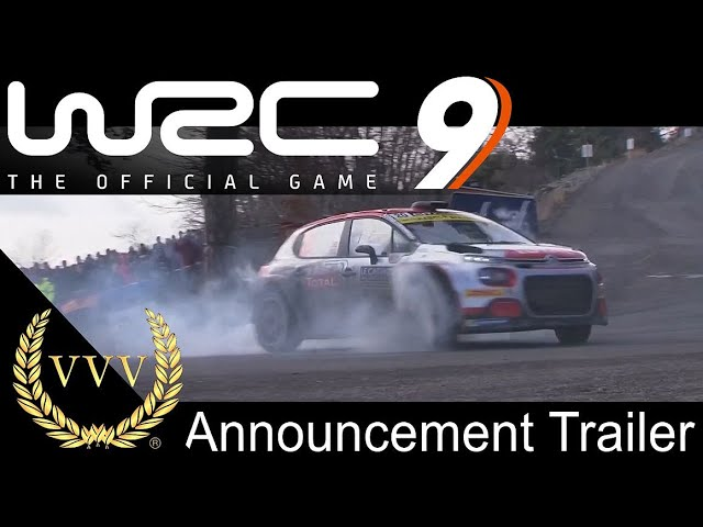 WRC 9 - Announcement Trailer