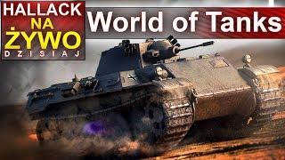 World of tanks - nietypowe konfiguracje - zabawa :) - Na żywo