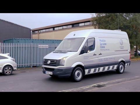 Volkswagen Mobile Service Clinic Vans