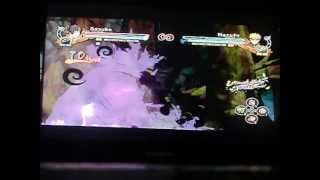 Naruto Shippuden: Ultimate Ninja Storm 3: Sasuke Awakening School Uniform DLC Gameplay
